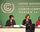 Civil society organizations, including WWF, present their expectations for UNFCCC-COP19 in Warsaw, Poland.