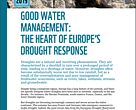 Good water management: The heart of Europe's drought response