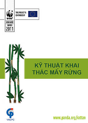 Cover for Sustainable Rattan Harvesting Mini Guide in Vietnamese