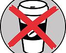 Action against throwaway cups