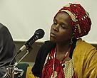 Ms Nelly Damaris Chepkoskei, Kenya, at the Climate Witness event, UN Climate Change Conference  in Nairobi, 16 Nov 2006