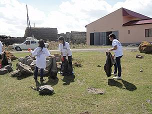 "Cleaning Administrative Area of ""Lake Arpi"" National Park"