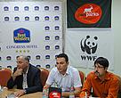 WWF and PanParks Foundation representatives