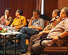 "Panelists in the seminar ""ISPO in HoB"""