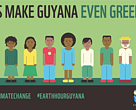 Earth Hour in Guyana