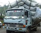First trucks carrying eco makala arrive in Goma
