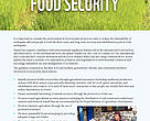 Nepal Earthquake 2015 - Environmental Considerations for Food Security