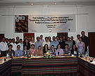 "Participants at the ""Establishing a Sustainable Production System for Rattan Products in Cambodia, Laos and Vietnam"" workshop"