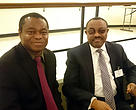 WWF-Africa Director Mr. Frederick Kumah meeting with Prime Minister of Ethiopia H.E. Mr. Hailemariam Desalegn on the sideline of the 70th UN General Assembly.