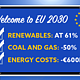 EU can double its planned CO2 savings from power + save €100s of millions by halving coal and gas generation by 2030.
