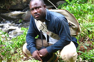 Augustin Feussom of Cameroon - Recipient WWF Prince Bernhard Scholarship 2014