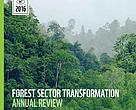 WWF Forest Sector Transformation Annual Review 2016 cover