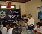 Participants at the workshop discussed the benefits of FSC certification