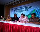 MoU Signing between WWF-Indonesia and FORMADAT Indonesia, and WWF-Malaysia and FORMADAT Malaysia.