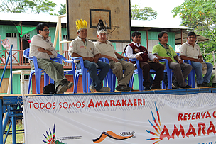 Amarakaeri Communal Reserve and associated communities celebrate reserve's 14th  anniversary