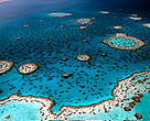 Australia's 2,000km-long Great Barrier Reef is the world's largest coral reef.