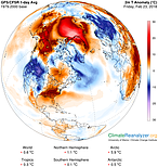 Anomalous weather in the Arctic, 23 February 2018 © University of Maine Climate Change Institute