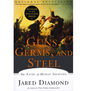 Guns, Germs and Steel by Jared Diamond  	© W. W. Norton & Company