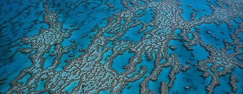 Hardy Reef, aerial view. Great Barrier Reef & Coral Sea, Australia rel=