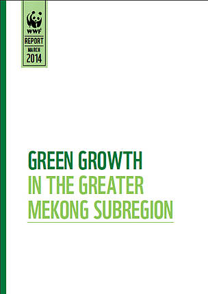 Green Growth in the Greater Mekong report cover