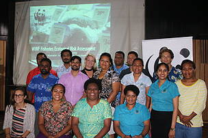 Group photo of the ESES training participants and facilitators.