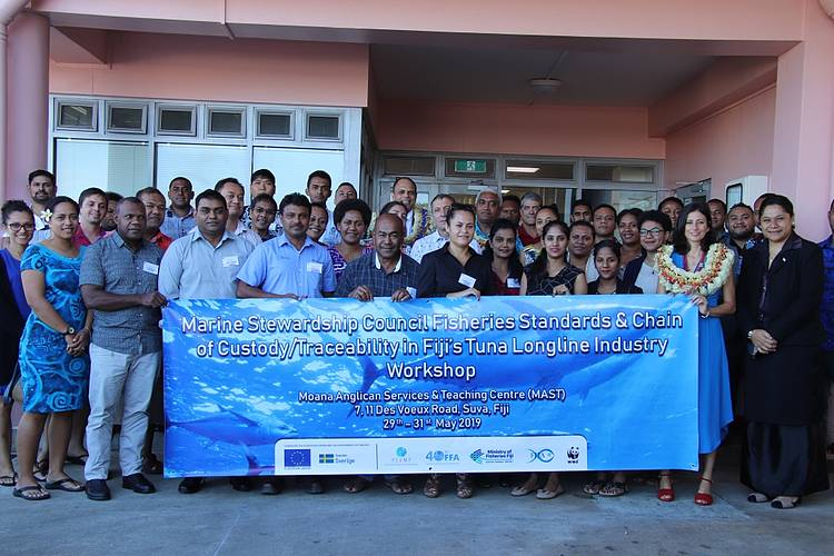 Marine Stewardship Council Fisheries Standards, MSC Chain of Custody / Traceability Workshop Report
