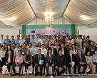 More than 100 people attended the InVEST workshop held in the Himawari Hotel, Phnom Penh