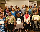 GRRT Training group photo of participants and training facilitator, Anita van Breda.