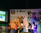 'To save all, save just one' was the take-home message for the 1,000+ youth audience of Global Tiger Day.