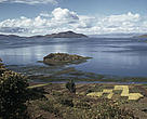 Lake Titicaca in Bolivia.