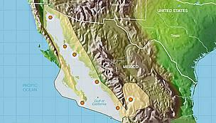 Gulf Of California WWF - Us gulf map