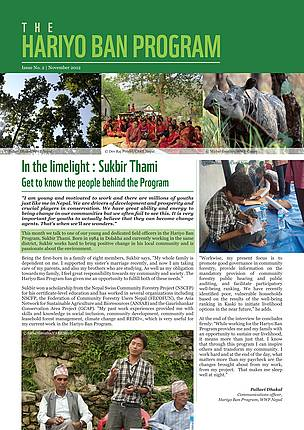 Hariyo Ban Program, Newsletter, Issue 2, November 2012