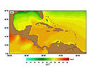 SST (Sea Surface Temperatures) - December.  	© http://www.rsmas.miami.edu