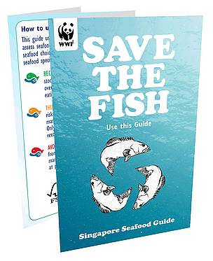 The Singapore Seafood Guide  	© WWF Singapore