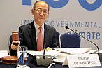 Hoesung Lee, Chair of the IPCC © IPCC Reporting Service