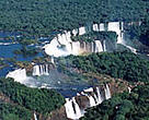 Iguaçu National Park, one of Brazil's World Heritage Sites.<BR>