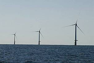 The generation of 6,000 megawatts from North Sea wind parks would provide enough energy to run all ...  	© WWF Netherlands
