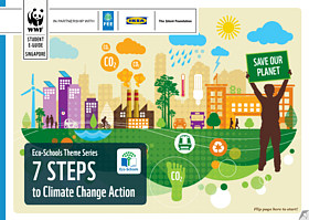 7 steps to climate change action e-guidebook  	© WWF-Singapore