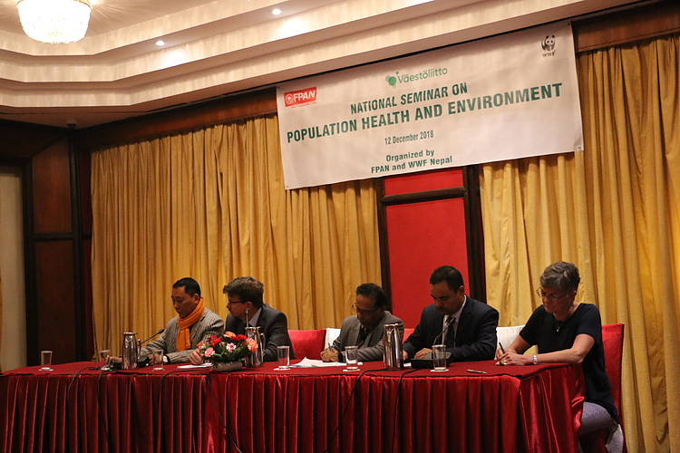 Population Health and Environment Project concludes successfully amidst a closing workshop