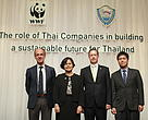 WWF's Global Head and Thai Business Leaders urge companies to build a sustainable future  for consumers and the planet