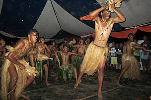 Hibiscus Festival held in Suva each August features beauty pageants, rugby tournaments, food, and traditional music, dancing and crafts