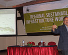Santosh Mani Nepal, Senior Director, Policy & Outreach, WWF Nepal talked about the state of infrastructure development in Nepal and success stories of development of sustainable infrastructure.