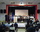Representatives of 16 municipalities with certificates from UNESCO