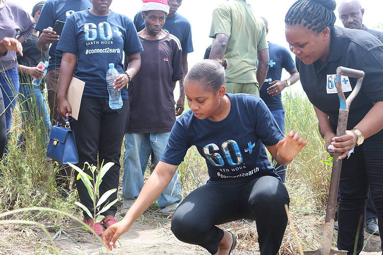 20,000 Trees planted to mark Earth Hour in Tanzania