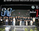 WWF Thailand staff at the Earth Hour event