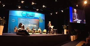 Jim Leape, Director General of WWF International, at the Budapest Water Summit
