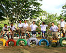 WWF-Thailand and B. Grimm organized a camp for the school's students to learn about tiger conservation in their own community