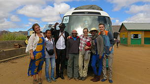 "WWF Volunteers with WWF Madagascar project ""Improved Livelihoods through solar-powered ... / ©: WWF / Enathe Hasabwamariya"