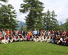 Participants with the Minister of Agriculture and Forests
