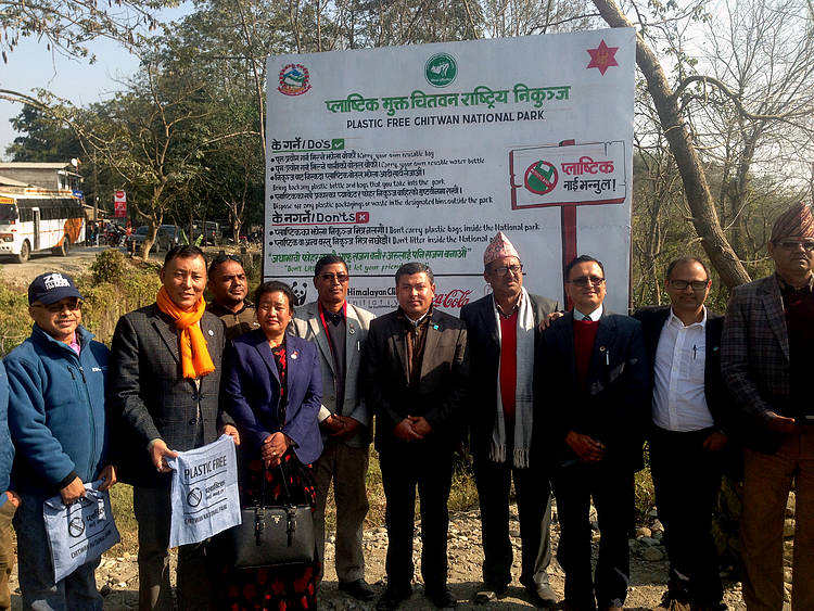 Chitwan National Park becomes Nepal's first plastic-free Protected Area